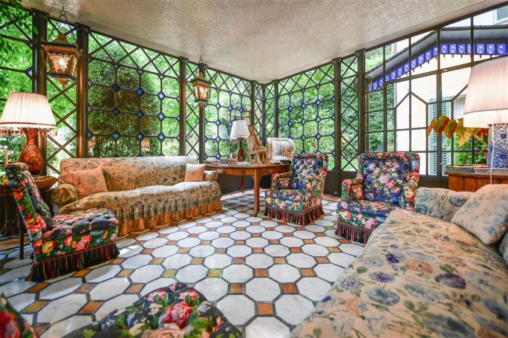 La veranda di Villa La Vagnola