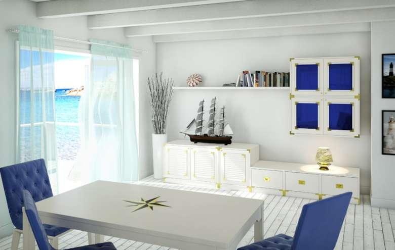 decorare la casa al mare