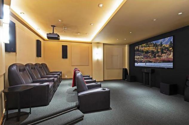 cinema privato casa di Michael Jordan