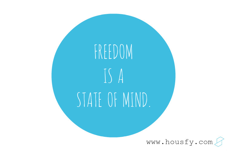 freedom is a state of mind mudarse