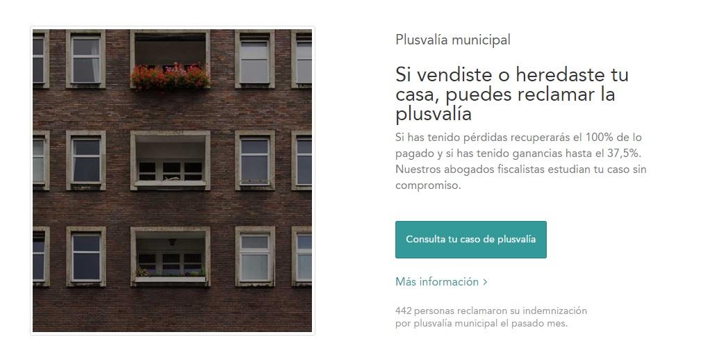 Reclama las plusvalía municipal con Housfy y Reclamador