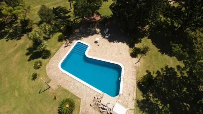 ibi de una piscina