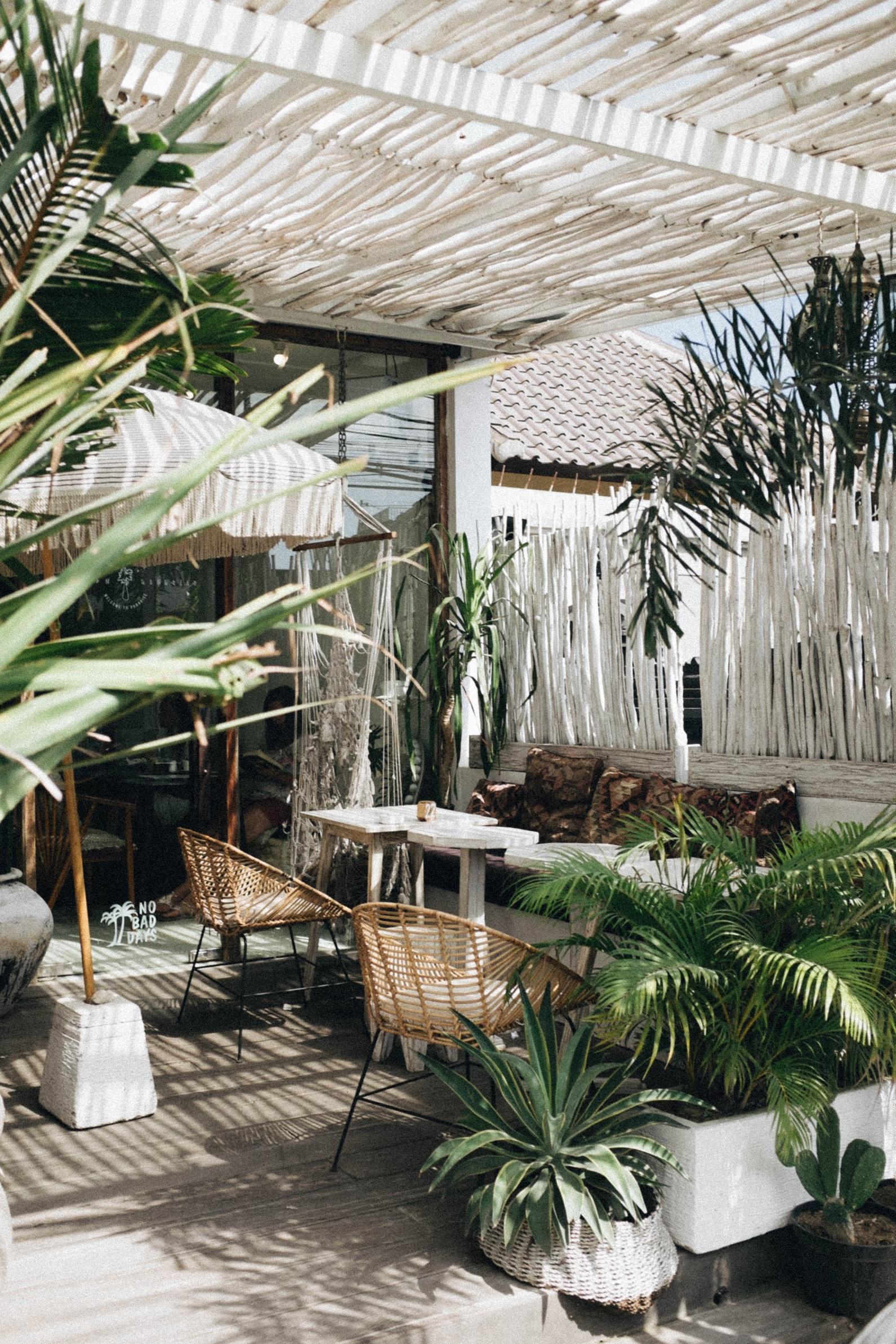 terraza plantas decoración
