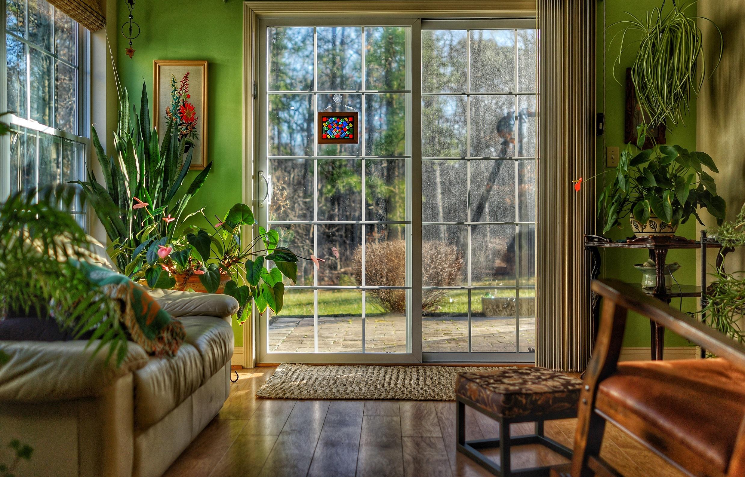 colores verde salón