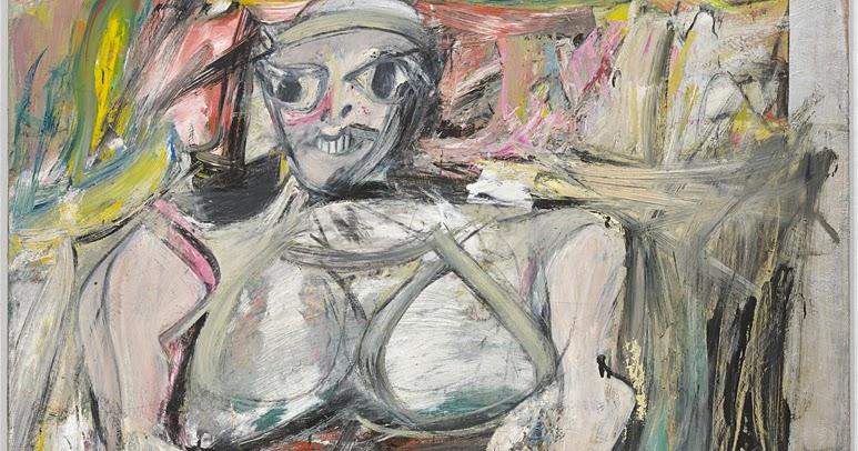 Willem Kooning cuadros abstractos