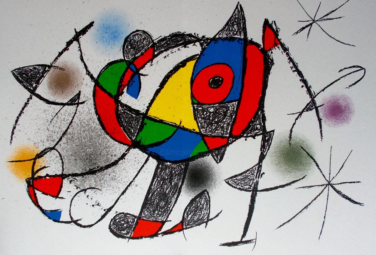 Joan Miró cuadros abstractos