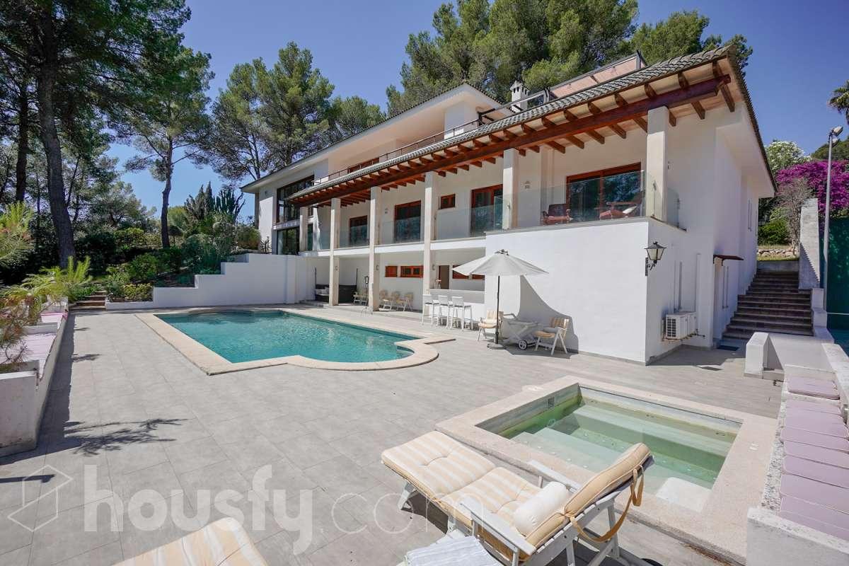 Magnífica casa con piscina en Palma de Mallorca. Casas de ensueño