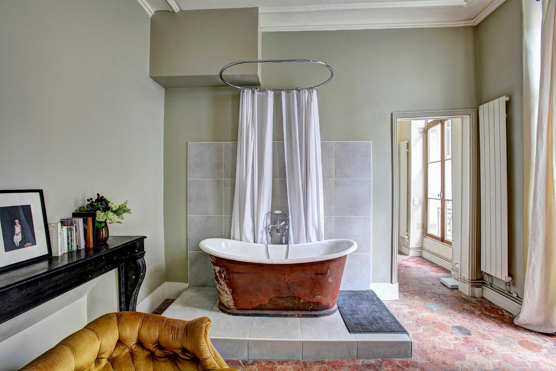 Bañera de estilo vintage