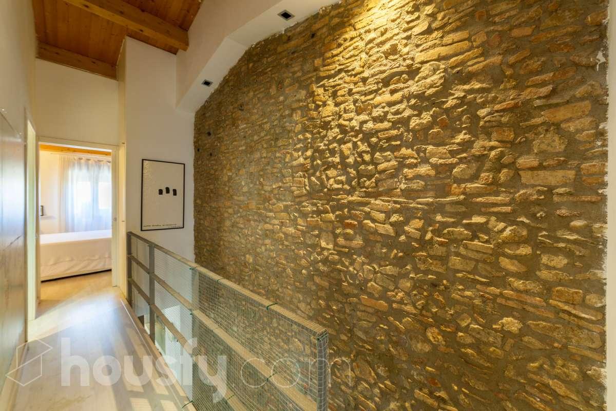 Detalle de la casa en Sant Cugat