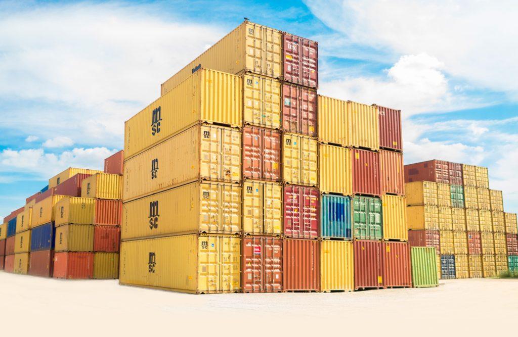 Casas con contenedores marítimos