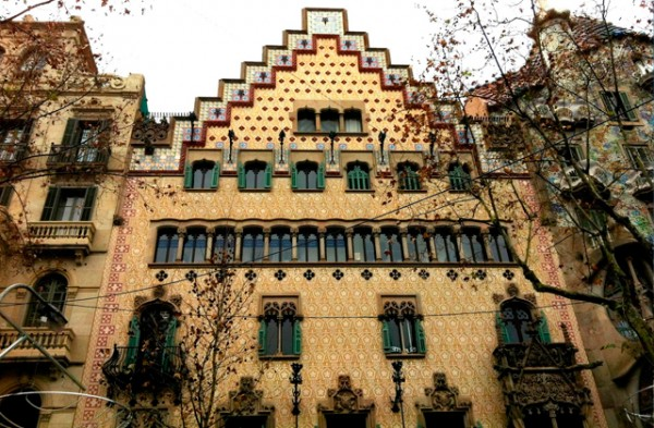 Casa Amatller. Fuente: Passeig de Gracia