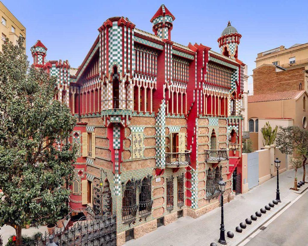 Casa Vicens. Fuente: Tiqets