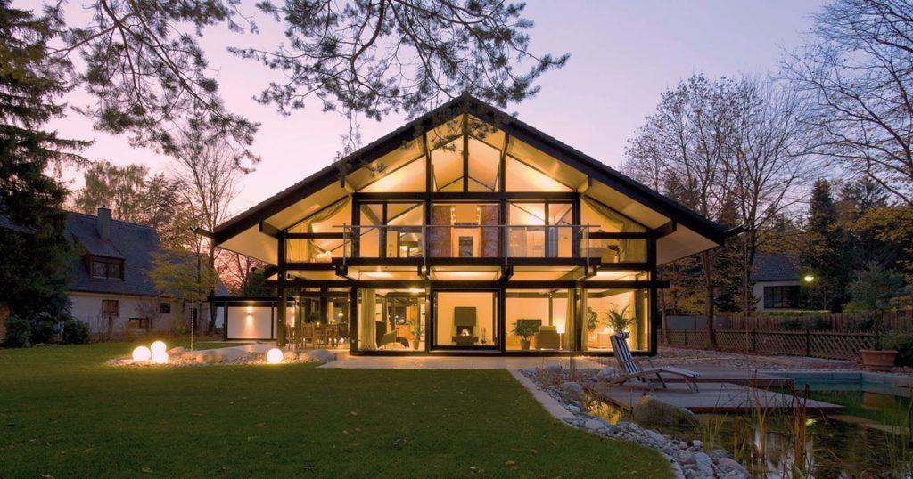 Casa de lujo prefabricadas de Antonio Banderas. Fuente: Arquitectura y diseño