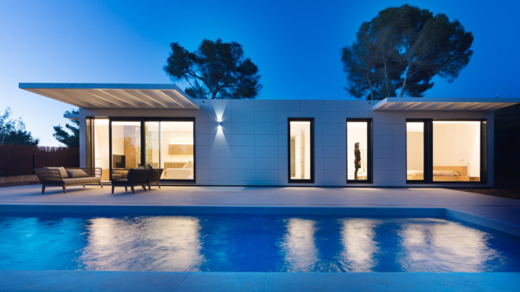 Casa prefabricada. Fuente: InHaus