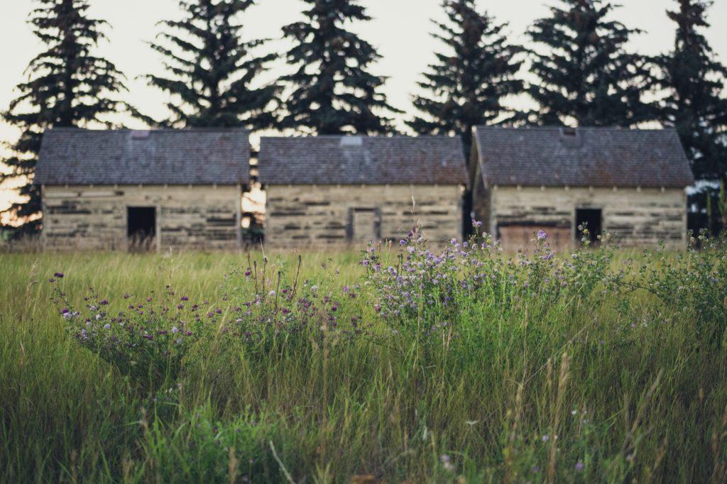 Casas abandonadas en pueblos abandonados