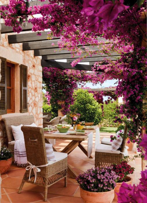 decoración terraza