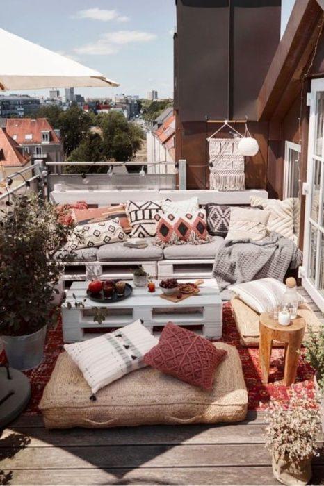 cómo decorar una terraza pequeña
