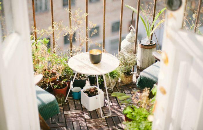 terraza con encanto